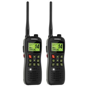 Uniden MHS235 Handheld Marine Radio 2 Pack