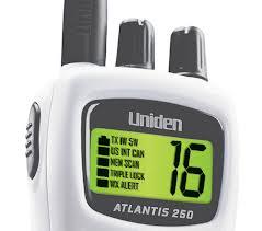 Uniden Atlantis 250G Display