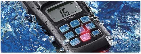 ICOM Ic-M24 Flash and float feature